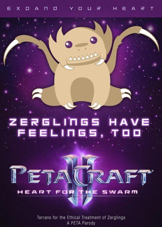 PETA-Zergling