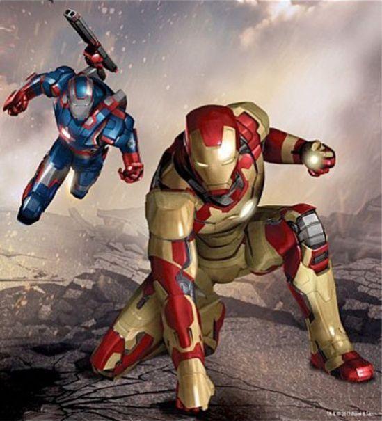 Iron-Man-3-Art-Patriot-Armor