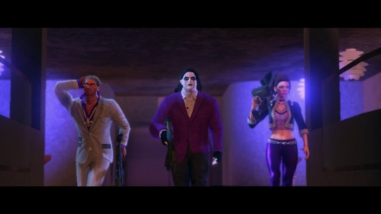 saints row the third badass walk