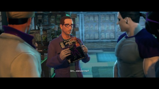 saints row the third celebrity