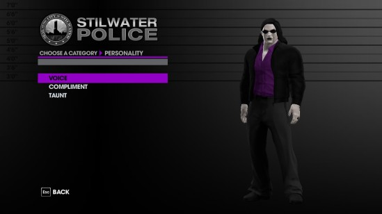 Saints Row The Third Char Creation