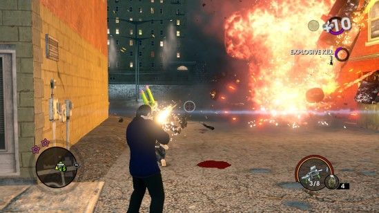 saints row the third gunsgunsguns
