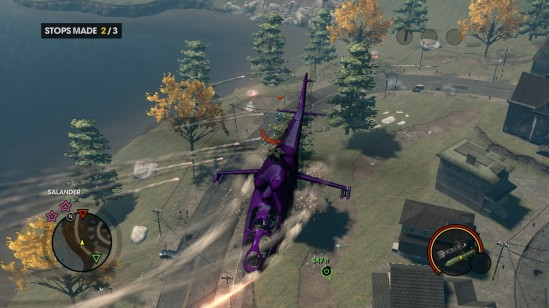 saints row the third helicopter assault