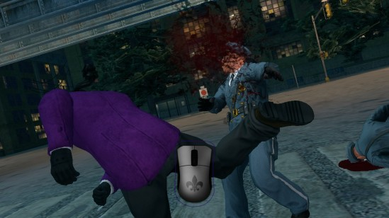 saints row the third police punch