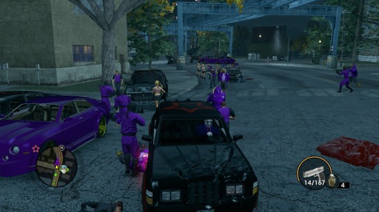 saints row the third saints
