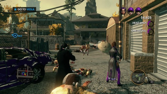 saints row the third zombies