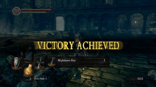 dark souls 10 depths victory