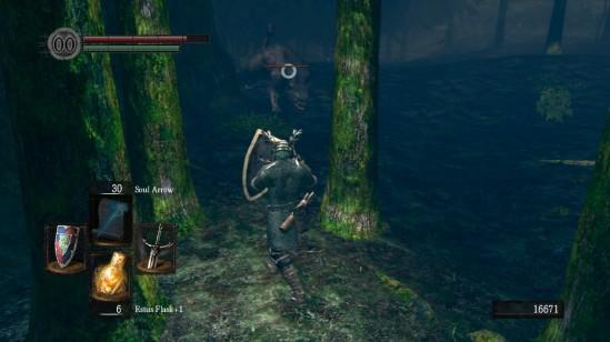 dark souls 9 darkroot garden giant bearcat