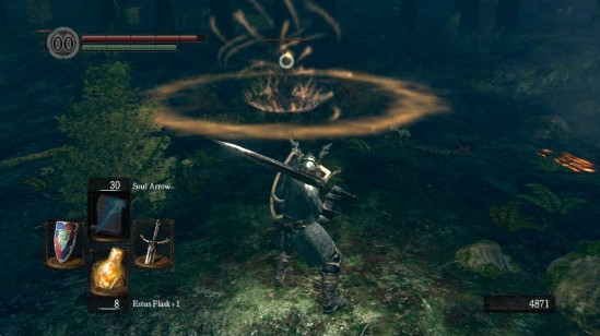 dark souls 9 forest dweller cleric miracle