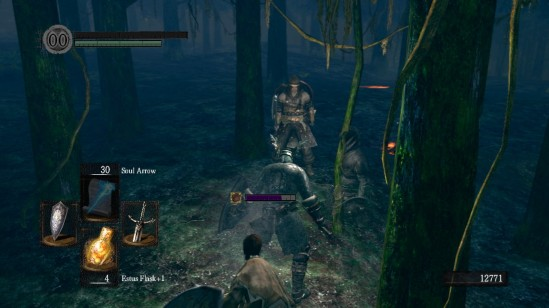 dark souls 9 forest dwellers surrounded