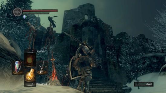 Dark Souls Ariamis Fortress