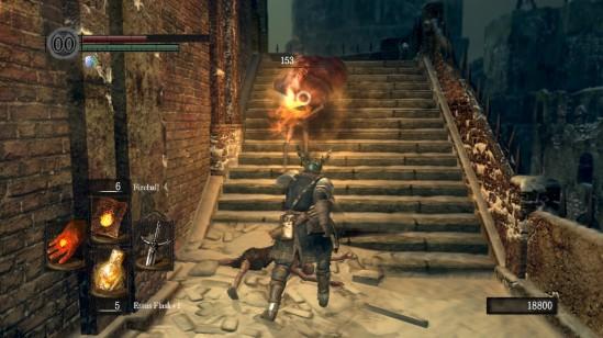 Dark Souls Ariamis Engorged Zombie Pyromancy