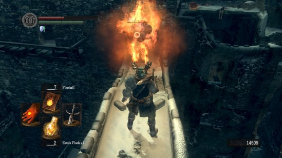 Dark Souls Engorged Zombie Pyromancy