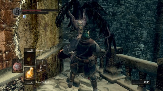Dark Souls Crow Demon