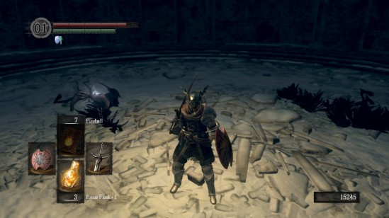 Dark Souls Ariamis Tower