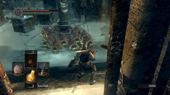 Dark Souls Undead Phalanx Statue