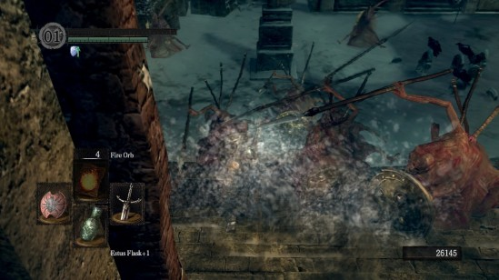Dark Souls Undead Phalanx Death