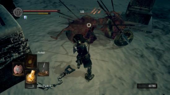 Dark Souls Undead Phalanx Attack