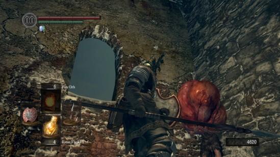 Dark Souls Weeping Engorged Zombie