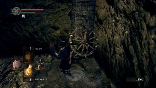 Dark Souls Skeleton Wheel
