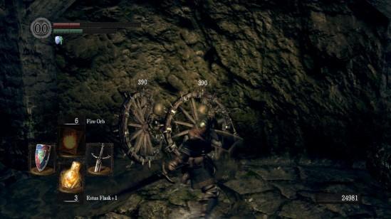 Dark Souls Skeleton Wheel 2-in-1