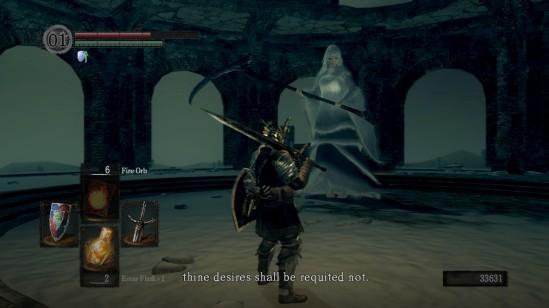Dark Souls Priscilla Rejection