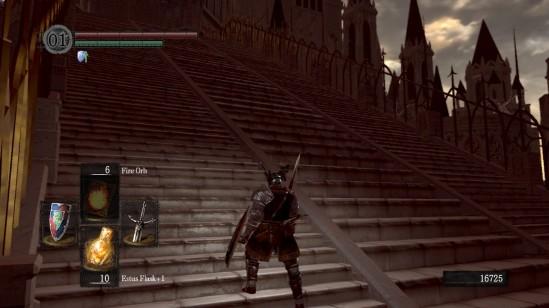 dark souls anor londo stairs