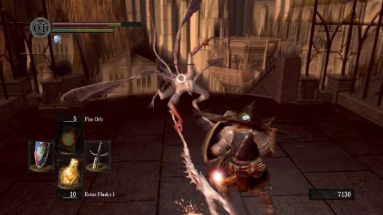 dark souls anor londo bat wing demon fight