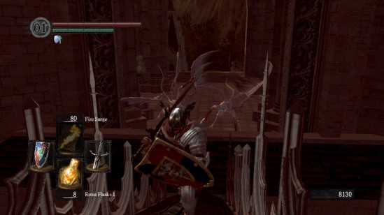 dark souls bat wing demon ambush