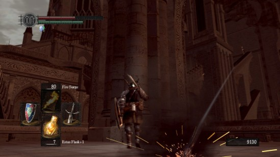 dark souls anor londo dragonslayer arrow