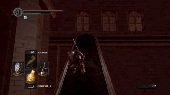 dark souls anor londo silver knight archer rush