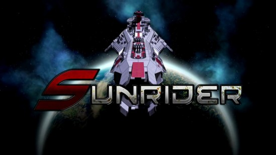 sunrider title screen
