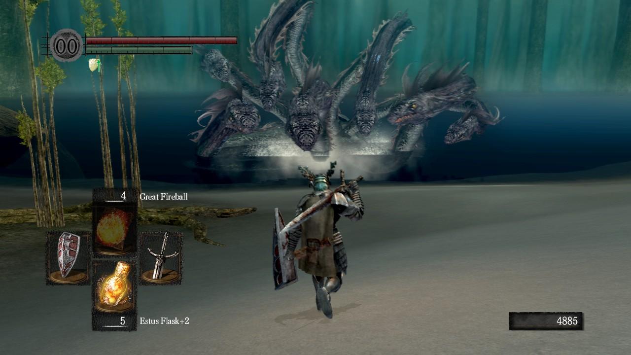 how to kill hydra dark souls